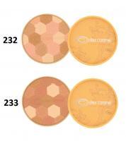 Couleur caramel poudre mosaique clair 233